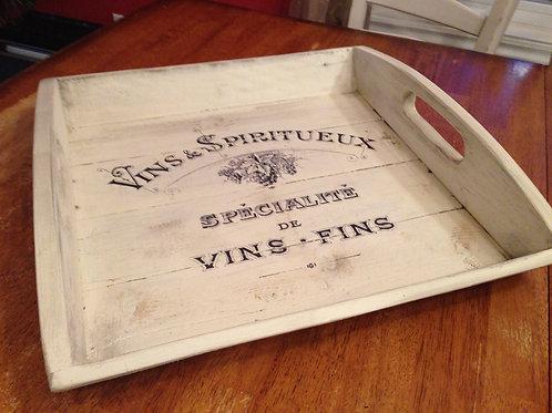 Plateau de service - Vins & spiritueux...