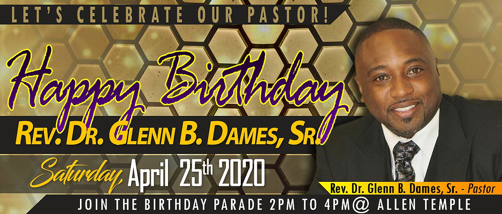 Rev. Glenn Dames Birthday Flyer 4.25.20.