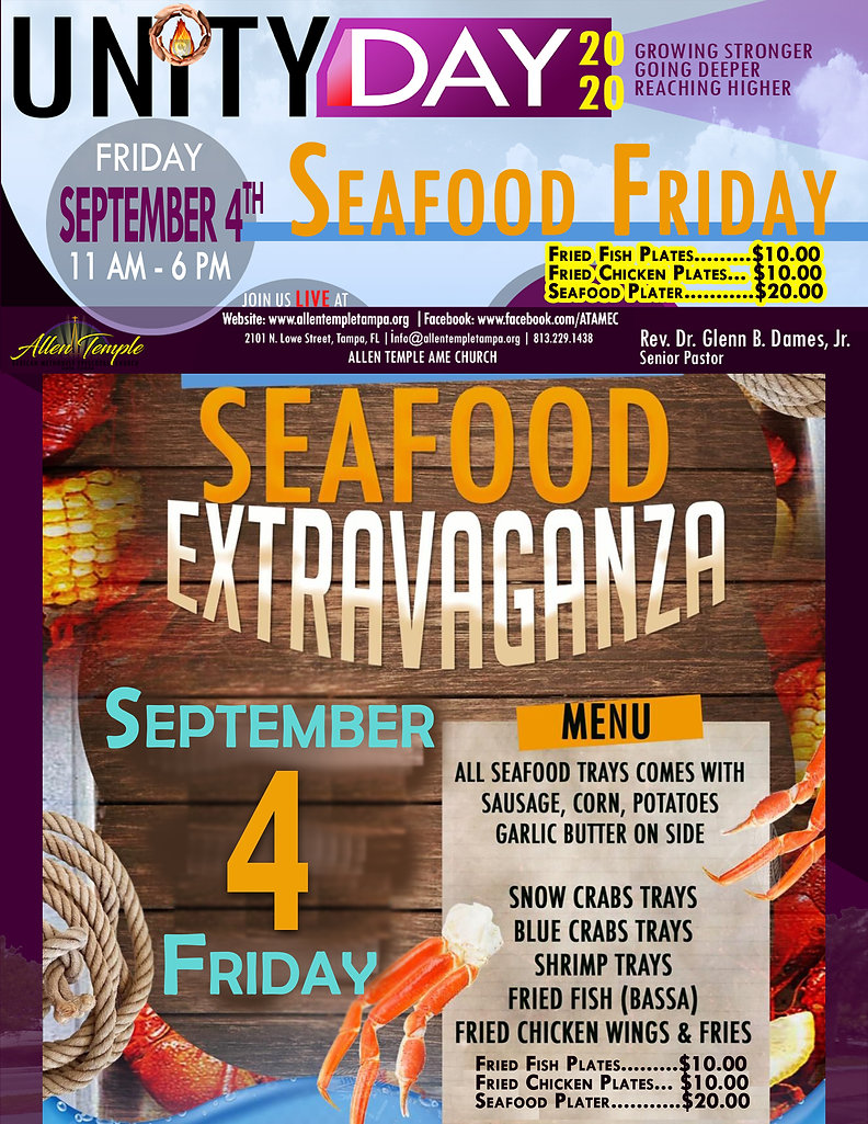 Unity Day 2020_Seafood Friday_9.4.20_Men