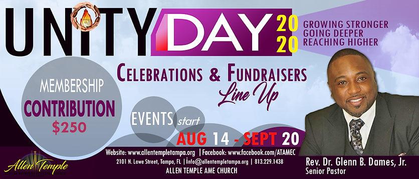 Unity Day 2020_Celebration Line Up_Banne