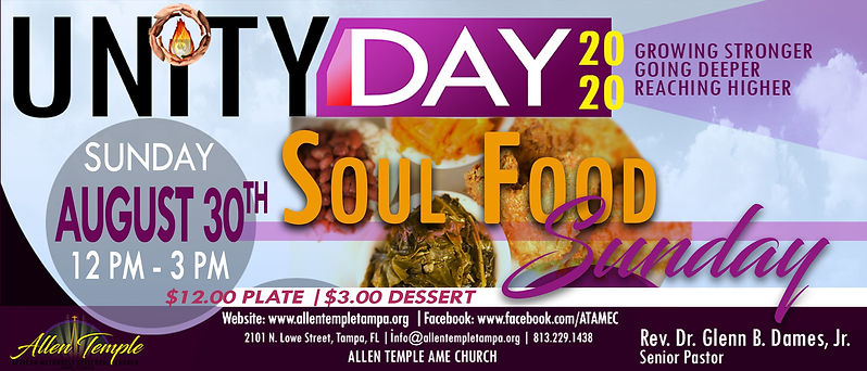 Unity Day 2020_Soul Food Sunday 8.30.20_