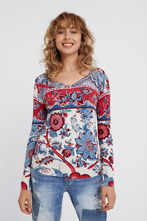 "Pull Desigual ""Jers Barrie"""