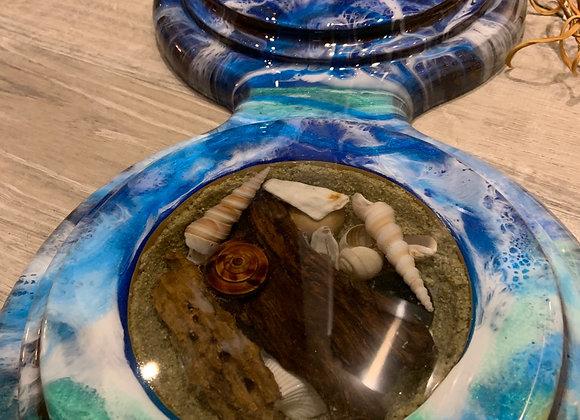 Ocean 🌊 Clock with Shells