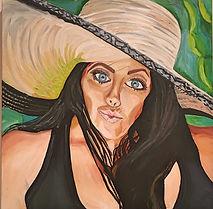 Self portrait Big Hat.jpg