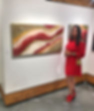 Red, Red Wine at the Sooke Fine Art Show