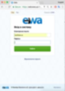Мобильное приложение Ева (EWA) для планшетов