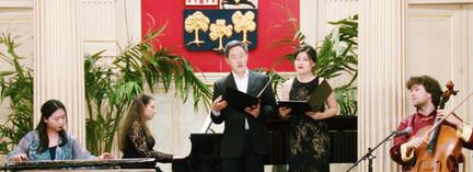 Concert Paysages croisés à la mairie du 16e