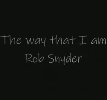 """""""The Way That I Am"""""""