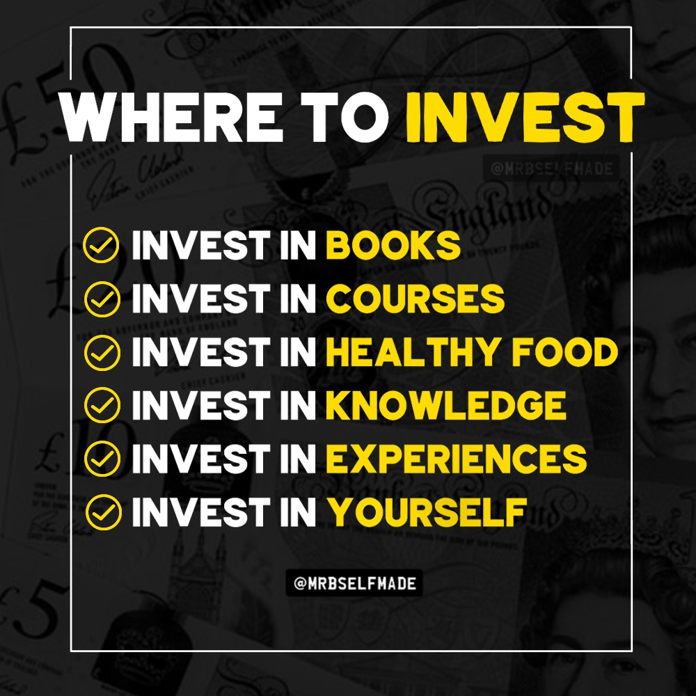 """Where To Invest"""