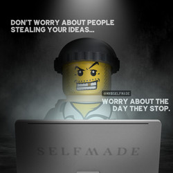 """Don't Worry About People Stealing"""