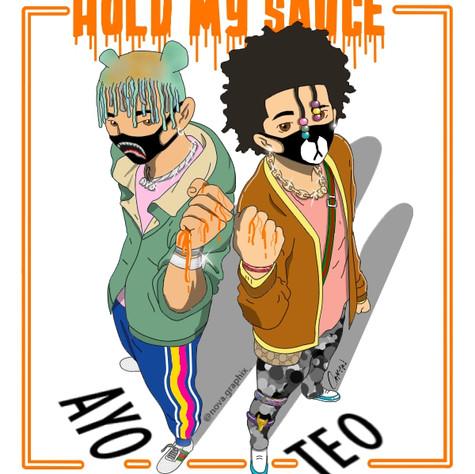 """Hold My Sauce"""