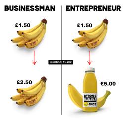 """Businessman Vs Entrepreneur"""