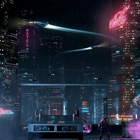 """""""BladePunkCyberRunner 204977"""""""