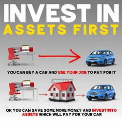 """Invest In Assets First"""