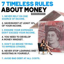 """7 Timeless Rules About Money"""