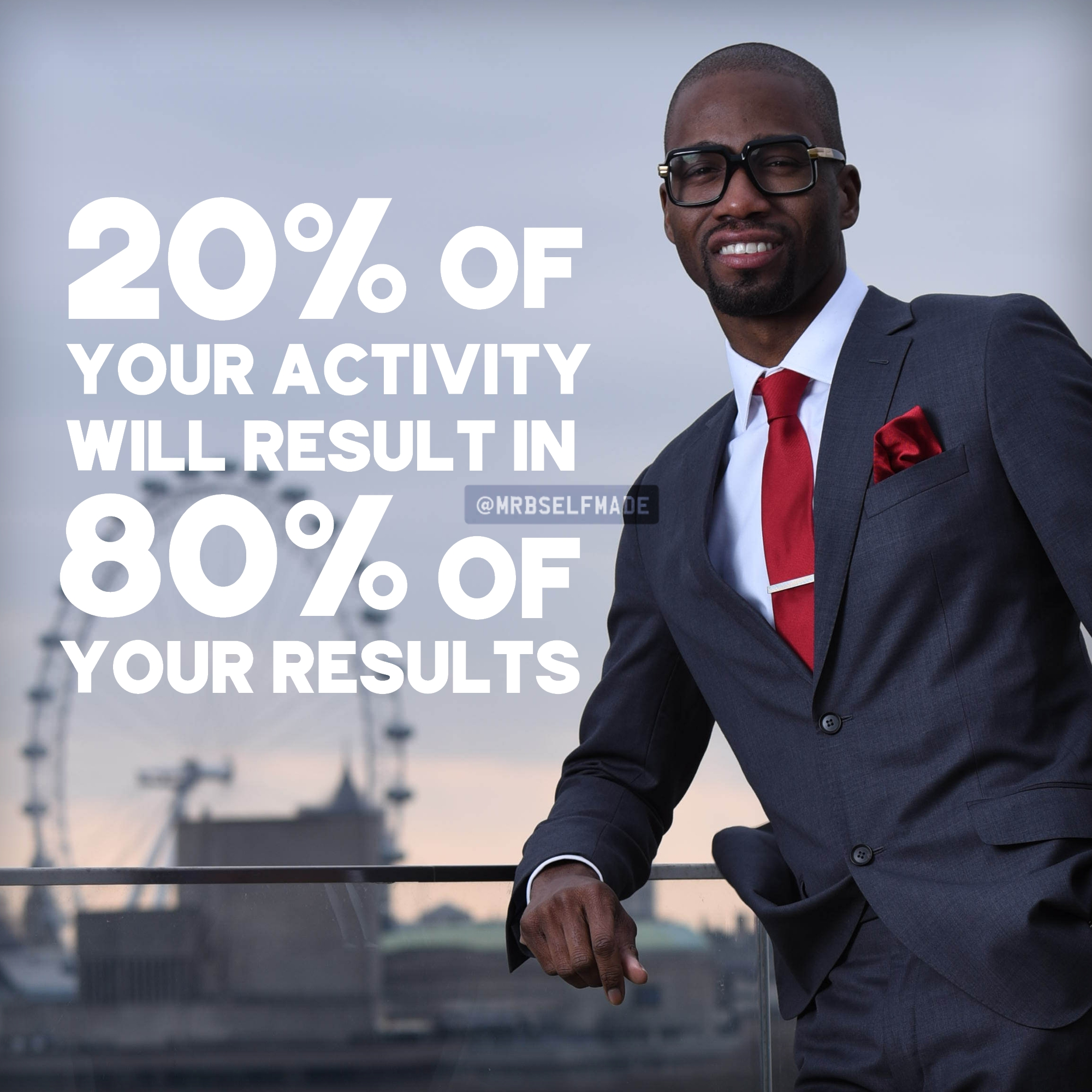 """20% Of Your Activity"""