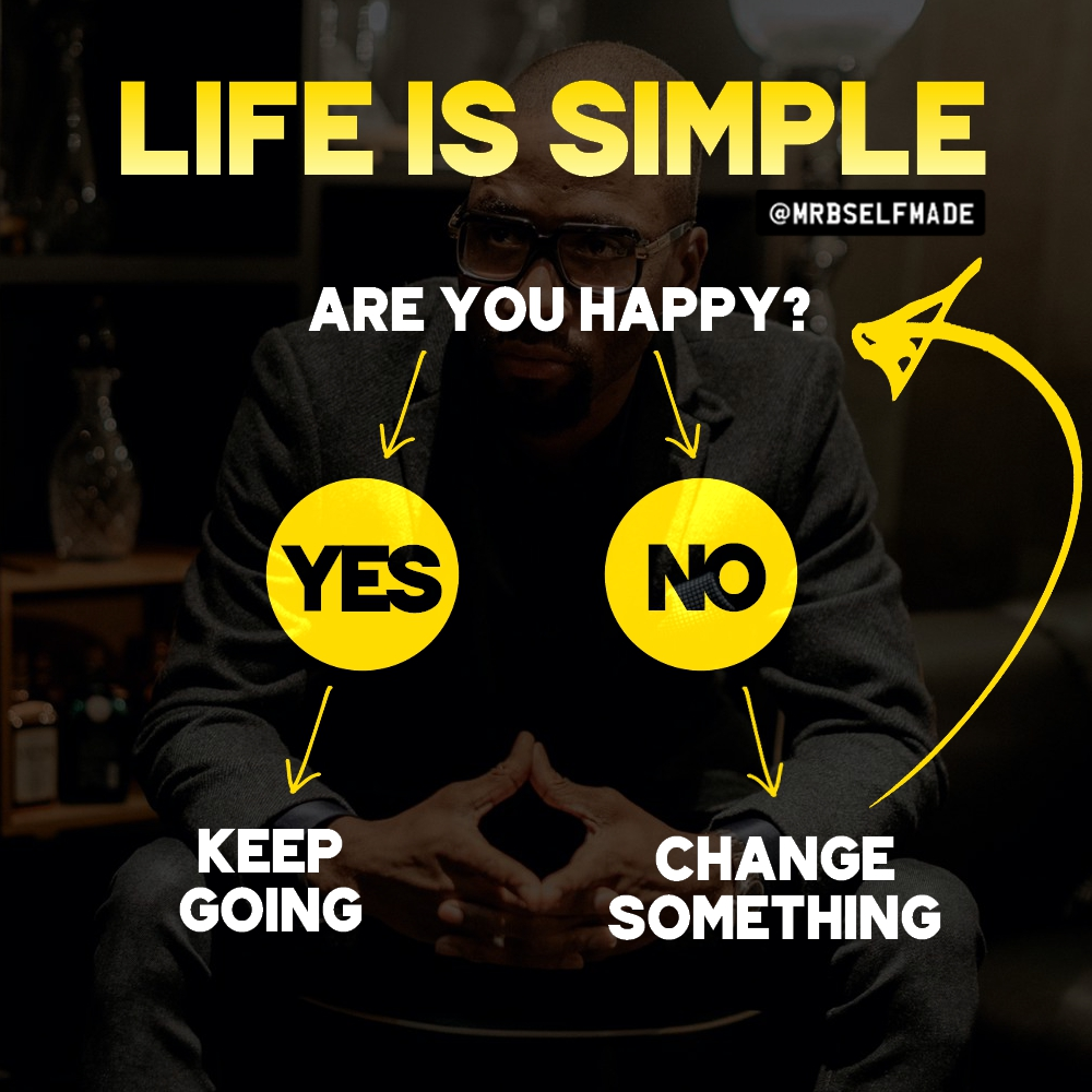 """Life Is Simple"""