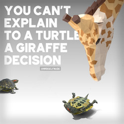"""You Can't Explain To A Turtle..."""
