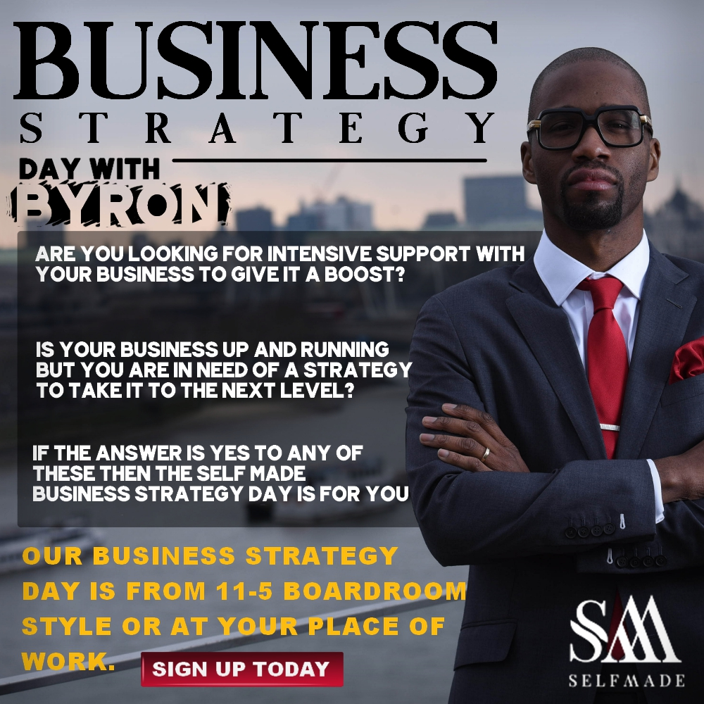 """Business Strategy With Byron Cole"""