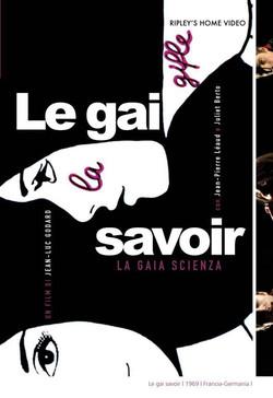 "Visual del film ""Le gai savoir"""