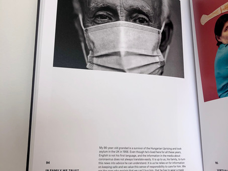My work is in a National Portrait Gallery book!