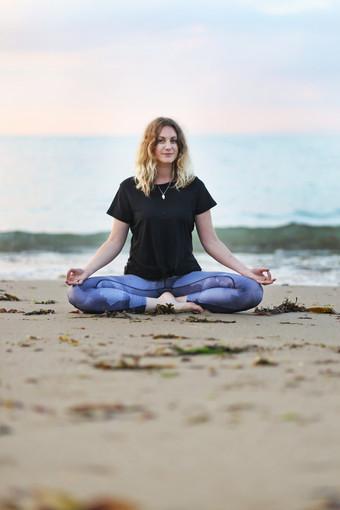 Angharad Lewis-Jones (yoga teacher)