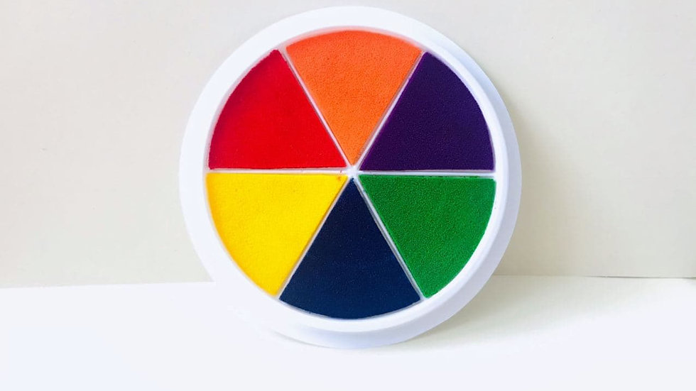 Finger Painting Pad Stamp