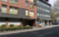 Eingang Praxis Oberhausen Mitte