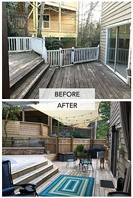 Backyard 2 Before & After - Interactive