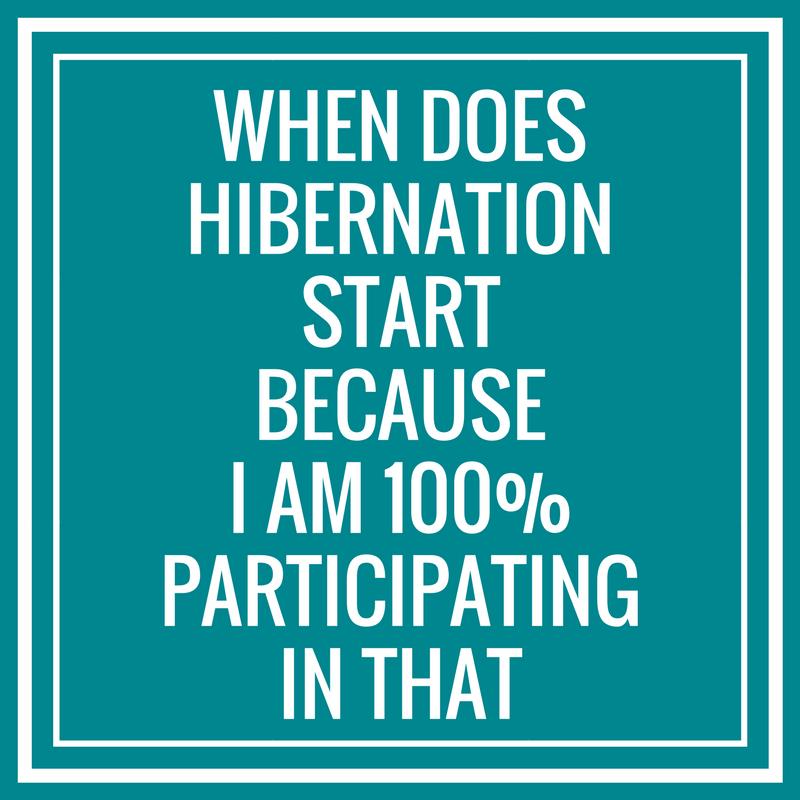 Hibernation Meme