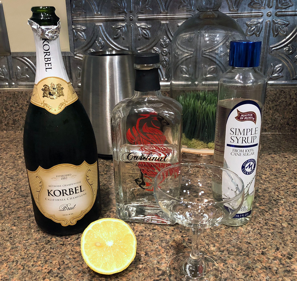 French 75 Ingredients