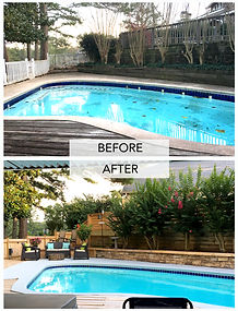 Backyard Before & After - Interactive