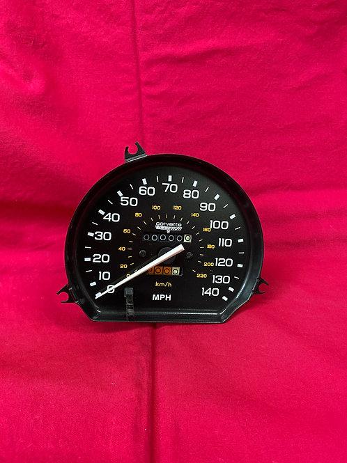 1980 1981 Corvette 140 mph Speedometer