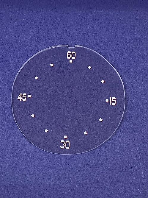 1938 Buick Clock Lens
