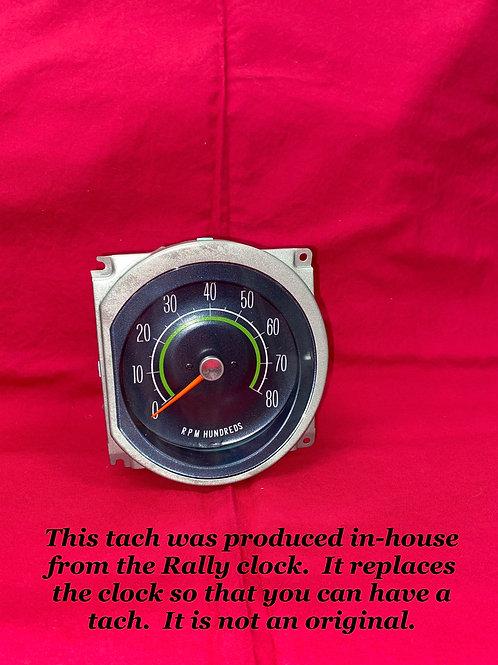 1964 - 65 Pontiac GTO Lemans Cluster Tachometer
