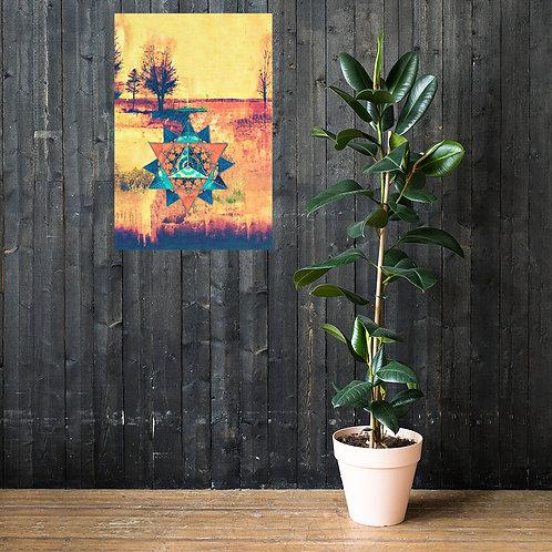 Sacred Land Energy Balance poster