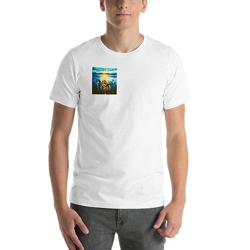 Sunrise Lake Tahoe Body Balancing Energy - Unisex T-Shirt