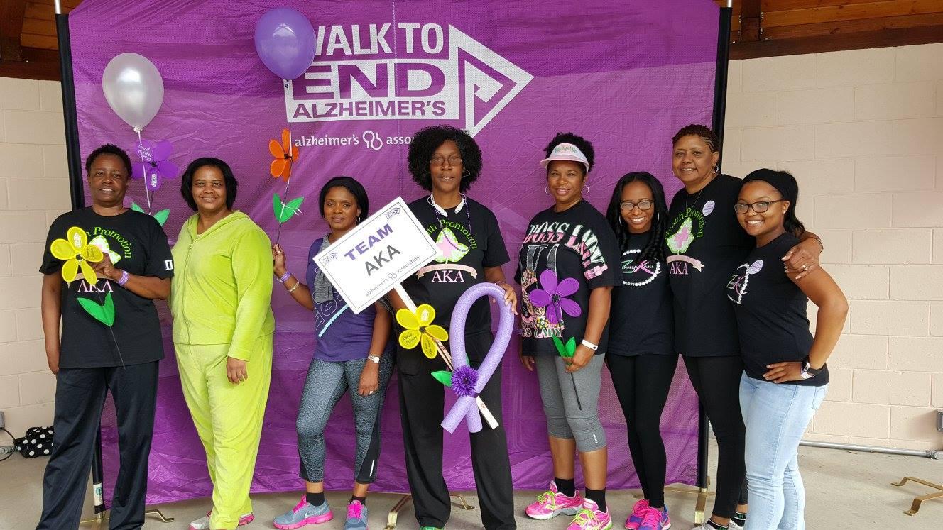 Alzheimer's Walk 2015