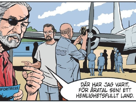 The Easter Egg of Swedish Editors