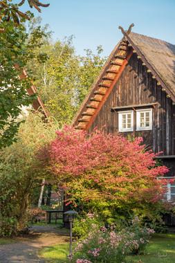 Reetgedecktes Spreewaldhaus