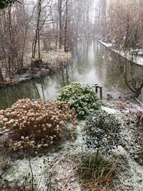 Spreewald im Schneefall