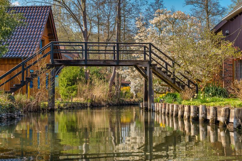 Brücke in Lübbenau Kaupen