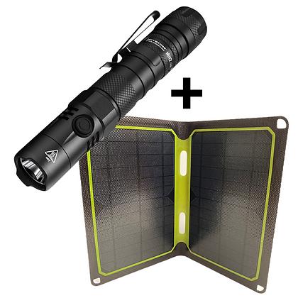 Nitecore MH12 V2 and SKSP 12W Solar Panel