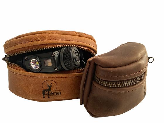 Nitecore HC65 + Free Custom Leather Pouch