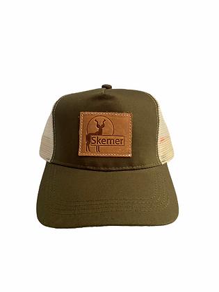 Skemer Trucker Cap. Olive
