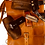 Thumbnail: Skemer Full Grain Leather Shoulder Bag/Backpack