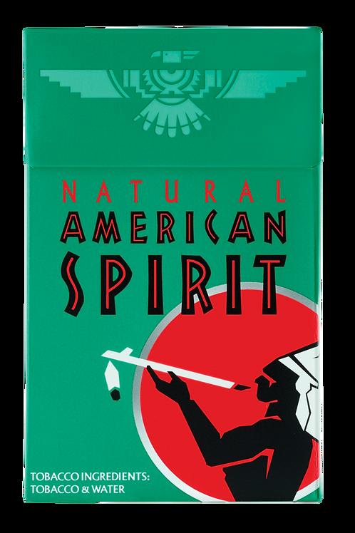 Am Spirit 321 - Dark Green - Menthol Full Bodied