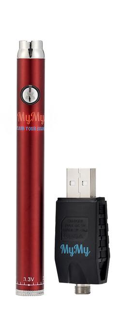 MYMY TWIST SLIM BATTERY - RED FIRE