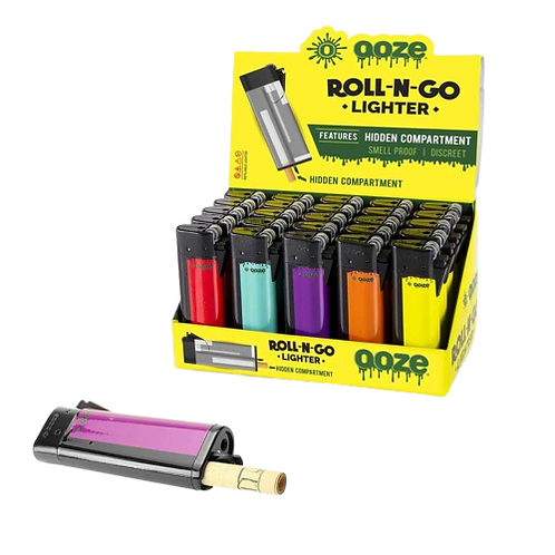 Ooze Roll-N-Go Lighters 25ct