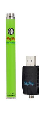 MYMY TWIST SLIM BATTERY - LIME GREEN